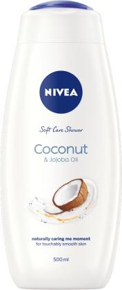 NIVEA S/CRM 500ML COCONUT & JOJOBA 1