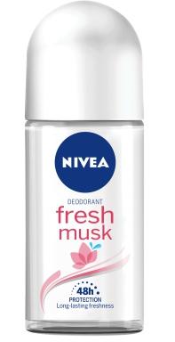NIVEA R/ON 50ML LDS FRESH MUSK 1