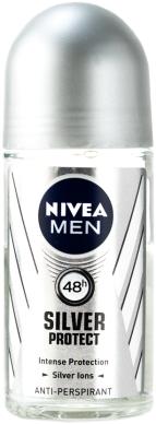 NIVEA R/ON 50ML MEN SILVER PROT 1