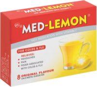 MED LEMON L/MENTHOL SACHETS 8