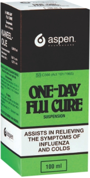 ONE DAY FLU CURE MIX 100