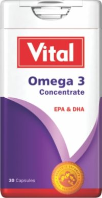 VITAL OMEGA 3 CONCENTRATE TABS 1000M 30