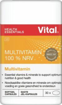 VITAL MULTIVITAMIN CAPS 30