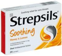 STREPSILS H/LEMON LOZ 24