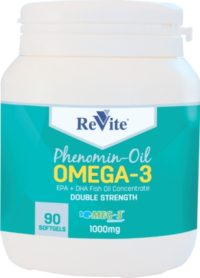 REVITE OMEGA 3 EPA+DHA CONCENTRATE CAPS 1000M 90