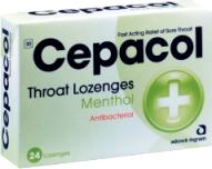 CEPACOL MENTHOL LOZ 24