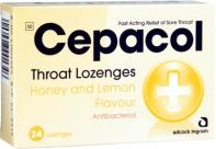 CEPACOL HONEY/LEMON LOZ 24