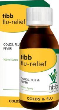 TIBB FLU RELIEF SYR 100