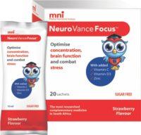 MNI NEUROVANCE FOCUS 20X10ML SACHETS 20