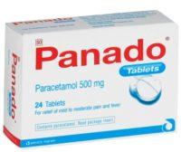PANADO BLISTER TABS 500MG 24