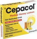 CEPACOL MEDSIP HONEY&LEMON SACHETS 8