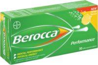 BEROCCA EFF MANGO 30'S TABS 30