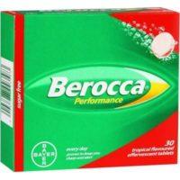 BEROCCA EFF TROPICAL 30'S TABS 30
