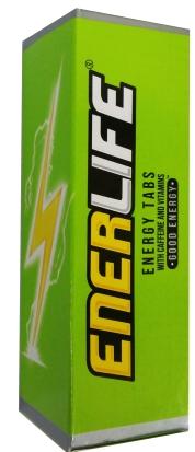 ENERLIFE ENERGY TABS (48) FTABS 10