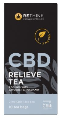 RETHINK CBD RELIEVE TEA 10'S 1