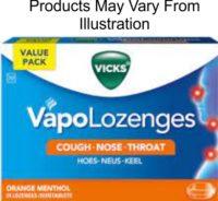VICKS VAPO ORANGE LOZ (6) LOZ 24